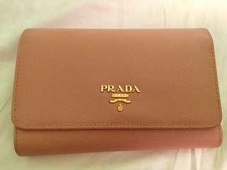 Authentic Prada Saffiano Wallet