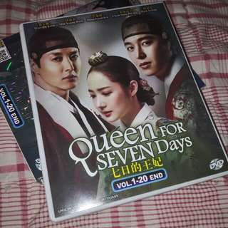 Korean Drama Queen for Seven Days