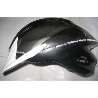 black Prowell bike Helmet size L