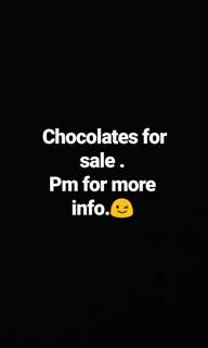 Chocolates for sale !!!