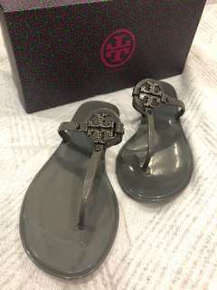 808b4eb3f Authentic Tory Burch Mini Miller Jelly Thong w  Crystals