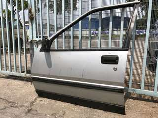 Proton saga left front door full set