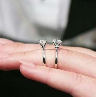 Ring Alexandrite Solitaire Stelring Diamond