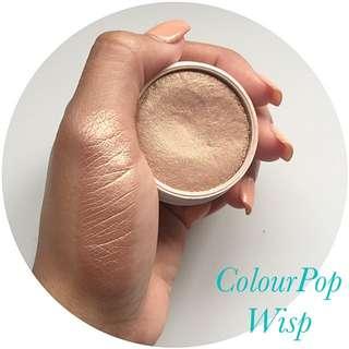 Colourpop super shock cheek highlighter in wisp
