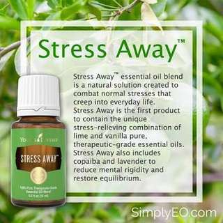 Young Living Stress Away Essential Oil 5ml Sealed