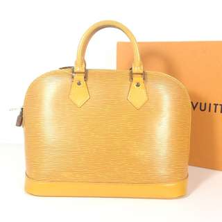 Authentic Louis Vuitton Alma EPI Leather (LV1805)