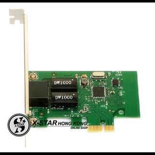 1631991 PCI-E千兆網卡PCI-EXPRESS 1000M網卡 台式機千兆網卡 電腦網卡
