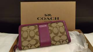 Coach Signature Wallet 銀包