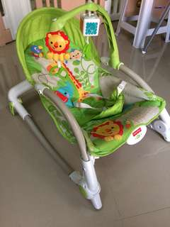 Rainforest Friends Newborn-to-Toddler Rocker
