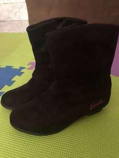 Barbie Black Boots