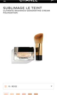 CHANEL Sublimage Le Teint, 10 Beige
