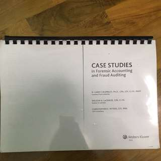 Case Studies In Forensic Accounting And Fraud Auditing (NUS Accountancy)