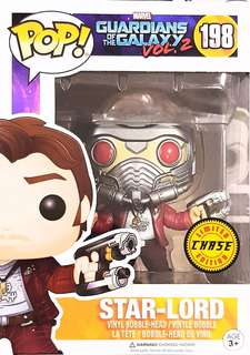 Funko Pop GOTG2 Masked Star-Lord #198 Chase