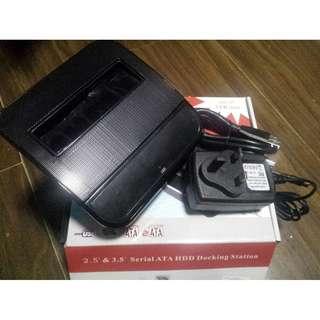 1632085 USB 3.0 硬盤座 通用sata硬盤底座移動硬盤盒 Hard disk base