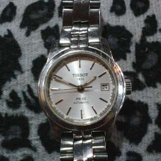 Authentic tissot automatic watch