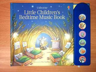 Usborne baby sound book - children's bedtime music