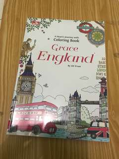 "✿ Coloring book ""Grace England"" ✿"