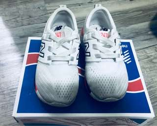 New Balance White Rubber Shoes