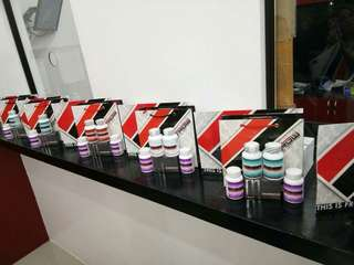 luxxe white product capsule & soap