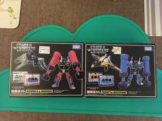Transformers Masterpiece MP-15 and MP-16