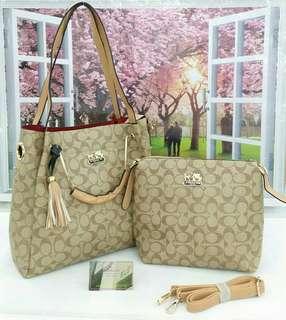 Coach Handbag (2in1)