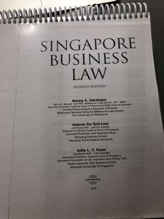 Singapore Business Law 7th edition