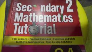 Secondary 2 Math Tutorial Book Part A