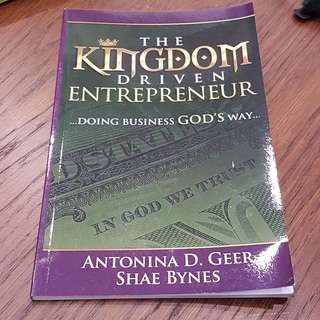 C198 BOOK - THE KINGDOM DRIVEN ENTREPRENEUR