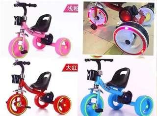 Bike with Led light for kids