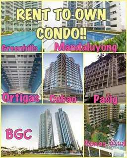 Rent to own / Pre-Selling / Rfo