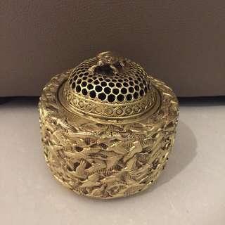 手工雕刻銅香薰爐 Copper handmade burner
