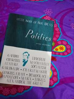Little book of big ideas : politic book