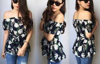 Pre-order JL070519 Off Shoulder Top