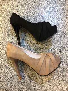 🚚 #超高女款厚底細跟魚口包鞋 質感超好🦋🦋🦋 🧚♀️🧚♀️2色35.36.37.38.39 🧞♀️🧞♀️🧞♀️🧞♀️超特890/現貨款