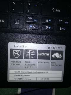 ACER LAPTOP NEGOTIABLE!!!!!