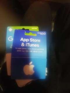 App store $500(買錯求主人)