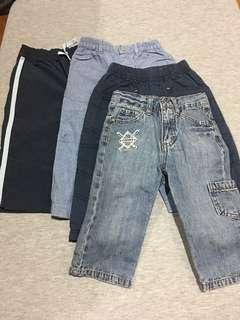 Assorted brand pants .
