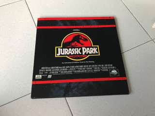 Jurassic Park -3 laser disc : collector items