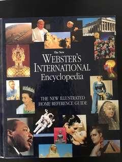 Webter's international encyclopedia