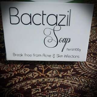 Bactazil soap 100% effective to clear and prevent acne/pimples dermatologists tested