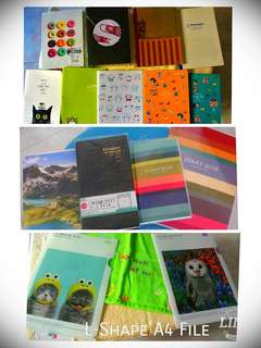 A5 to B6 Notebooks/ drawing book for sale!