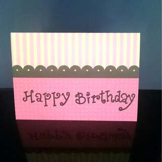 BIRTHDAY CARD (HANDMADE)