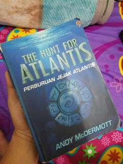 The hunt for atlantis novel