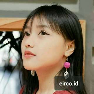 Pink Earrings / anting murah
