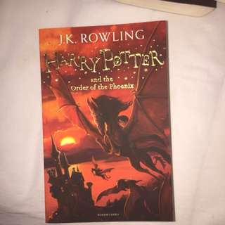 Buku harrypotter order of the phoenix