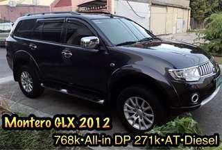 Mitsubishi Montero GLX 2012 Automatic Diesel