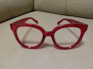 全新無鏡片眼鏡  郵寄貨品包平郵