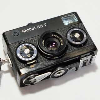 Rollei 35 T Black Film Camera (Made in Singapore)