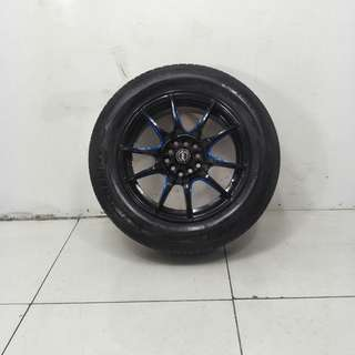 16 '' Sports Rim With Tyre 5x100 5x114.3 (SR1080)