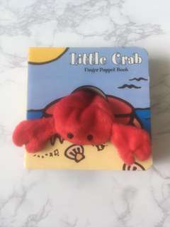 BN Little Crab Finger Puppet Book
